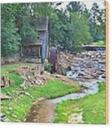 Sixes Mill - Dukes Creek - Square Wood Print