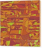 1045 Abstract Thought Wood Print