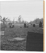 10602-16bw  Memorial Day 1991 Wood Print