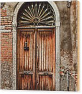 1084-venice Italy Wood Print