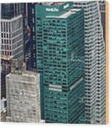 1095 Avenue Of The Americas Wood Print