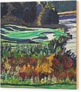 11 At Legacy Links Wood Print by Frank Giordano
