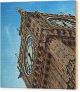 Big Ben Closeup Wood Print
