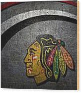 Chicago Blackhawks Wood Print