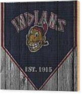 Cleveland Indians Wood Print