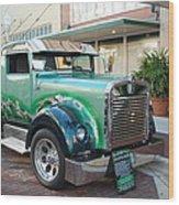 Custom Truck Wood Print