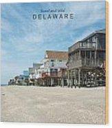 Delaware Wood Print