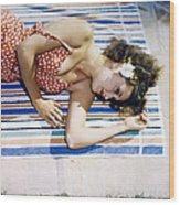 Dorothy Lamour Wood Print