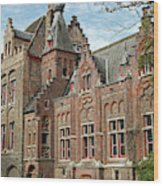 Europe, Belgium, Bruges Wood Print