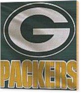 Green Bay Packers Uniform Wood Print