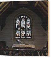 Greensted Church Wood Print
