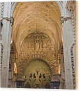 Mezquita Cathedral Interior In Cordoba Wood Print