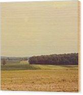 Michigan Landscape Wood Print