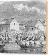 Second Opium War, 1860 Wood Print
