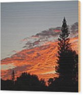 Skyscape Wood Print