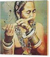 South Asian Art  Wood Print