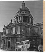 St Paul's Cathedral London Wood Print