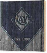 Tampa Bay Rays Wood Print