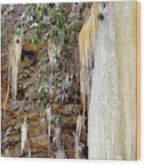 Usa, West Virginia, Blackwater Falls Wood Print