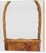 Wicker Basket Number Two Wood Print