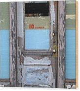 110 E. El Paso St Wood Print