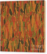 1114 Abstract Thought Wood Print