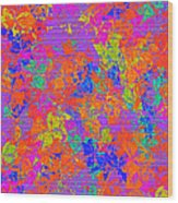 1115 Abstract Thought Wood Print
