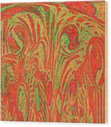 1133 Abstract Thought Wood Print