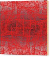1162 Abstract Thought Wood Print