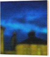 11pm Glasgow  Wood Print