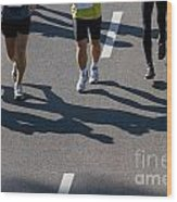 11th Poznan Marathon Wood Print