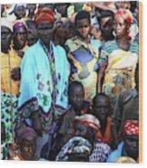 Burundi-peace Wood Print