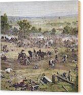 Civil War Gettysburg Wood Print