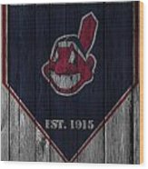 Cleveland Indians Wood Print