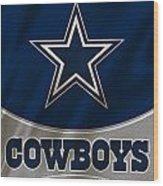 Dallas Cowboys Uniform Wood Print