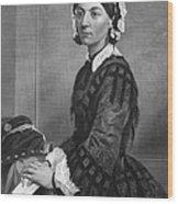 Florence Nightingale Wood Print