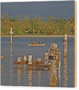 12- Kayak Wood Print