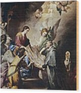 Murillo, Bartolom� Esteban 1617-1682 Wood Print