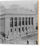 New York Stock Exchange Wood Print