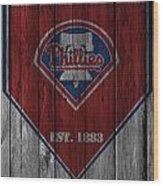 Philadelphia Phillies Wood Print