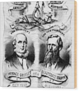 Presidential Campaign, 1872 Wood Print