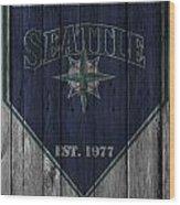 Seattle Mariners Wood Print