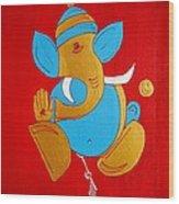 12 Shubham - Auspicious Ganesha Wood Print