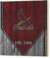 St Louis Cardinals Wood Print