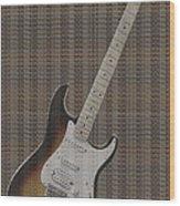 12 Thousand Electric Guitars Wood Print