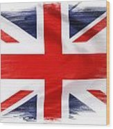 Union Jack Wood Print