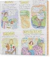 New Yorker September 18th, 2006 Wood Print