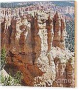 Utah Bryce Canyon Wood Print