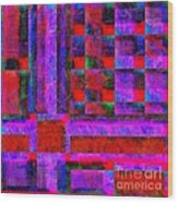 1227 Abstract Thought Wood Print
