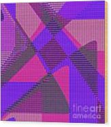 1038 Abstract Thought Wood Print